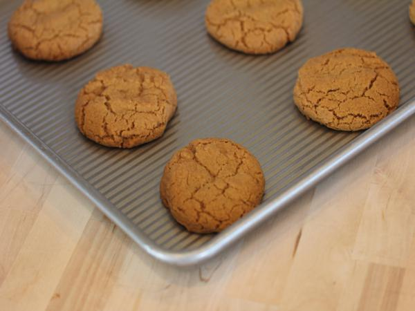 Gluten Free Molasses Cookies_