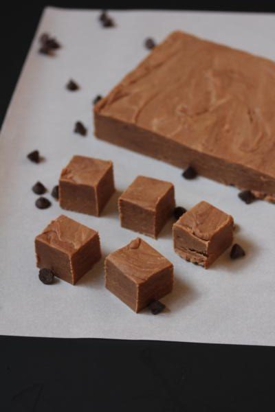 Peanut Butter Chocolate Fudge_