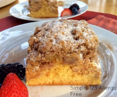 crumble coffee cake