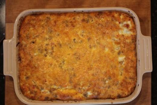 5 Ingredient Oven Omelet-