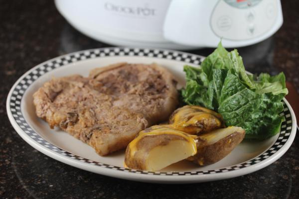 Cheesy Crock Pot Potatoes