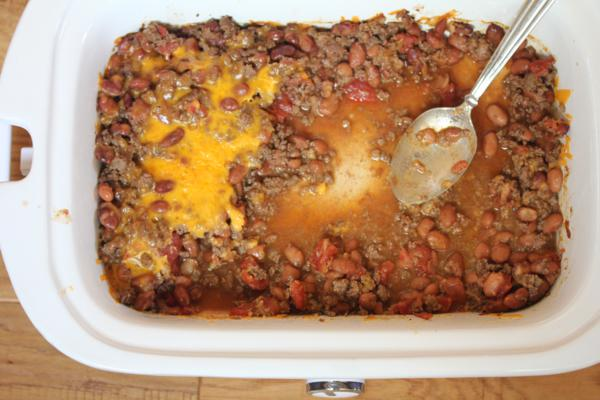 Crock Pot Beef and Beans Casserole