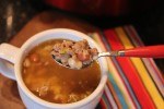 Crock Pot White Chili with Sausage__