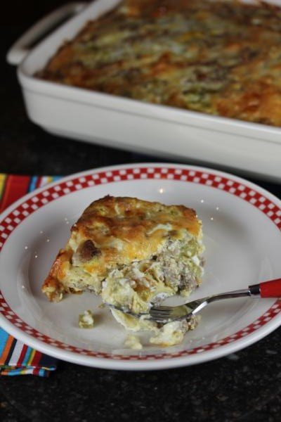 Egg and Chili Casserole