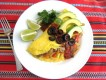 Fajita Omelet {Easy Gluten Free Dinner Recipe}
