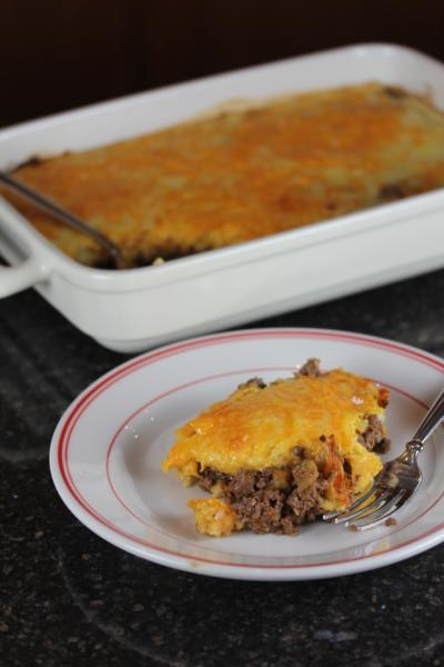Gluten Free Cheeseburger Pie-