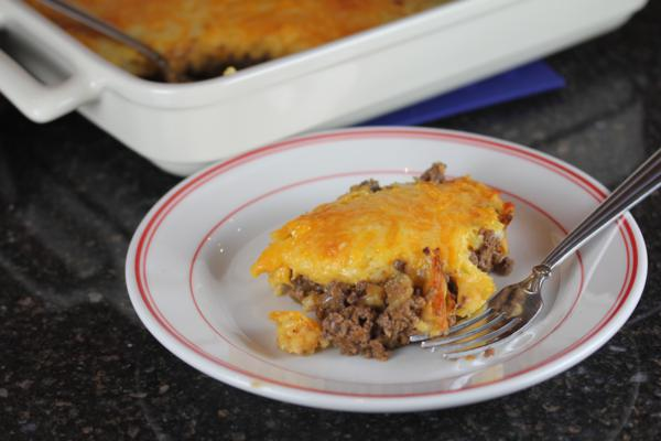 Gluten Free Cheeseburger Pie