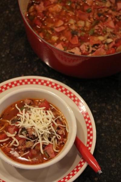 Pizza Soup_