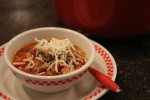 Pizza Soup Recipe {aka Crustless Pizza In A Bowl}
