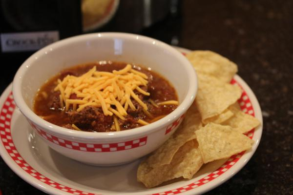 Slow Cooked Round Steak Chili