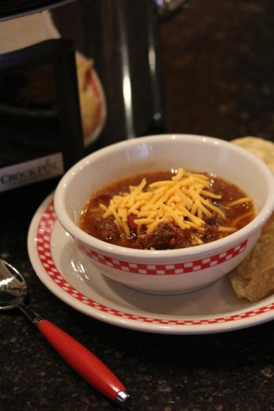 Slow Cooked Round Steak Chili_