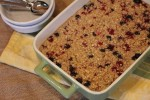 Triple Berry Baked Oatmeal-