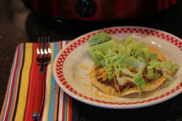 Crock Pot Tostadas