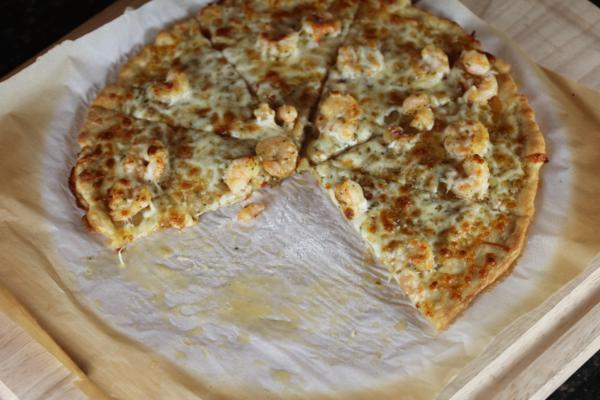 Easy Shrimp Pizza_