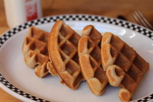 Gluten Free Brown Sugar Waffles