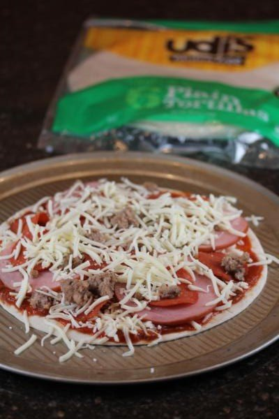 Quick and Easy Gluten Free Pizza