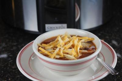 Slow Cooked Copycat Chicken Tortilla Soup