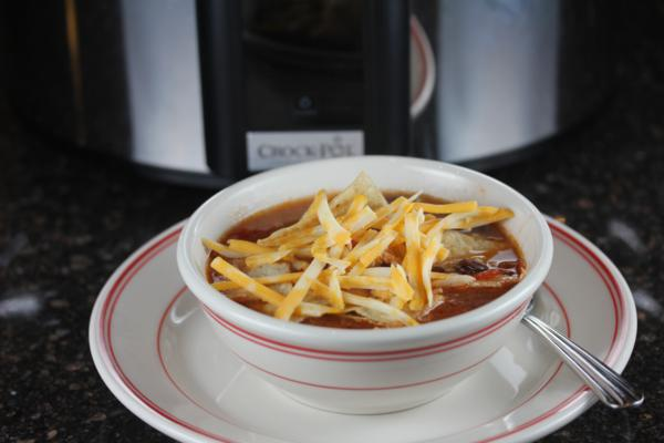 Slow Cooked CopyCat Chicken Tortilla Soup