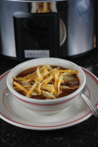 Slow Cooked Copycat Chicken Tortilla Soup-