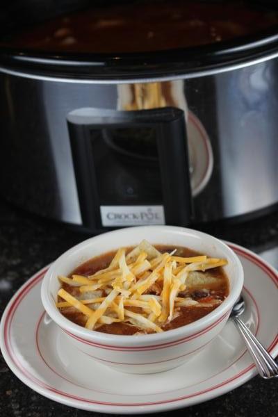 Slow Cooked Copycat Chicken Tortilla Soup_