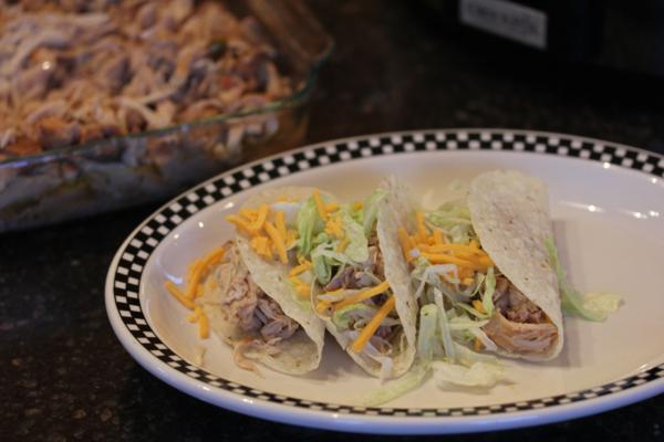 Crock Pot Chicken Carnitas