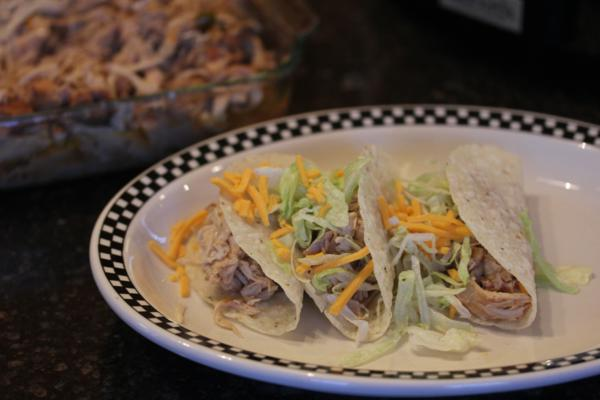 Crock Pot -Chicken Carnitas