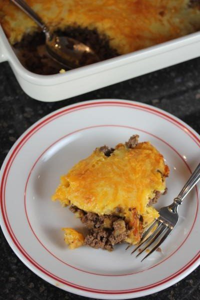 Easy Cheeseburger Pie-