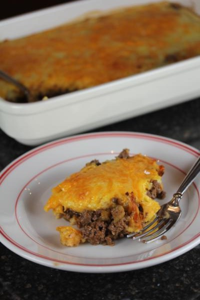 Easy Cheeseburger Pie_