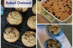 Freezer Friendly Baked Oatmeal