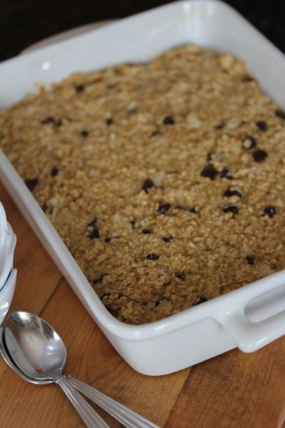 Mounds Bar Baked Oatmeal