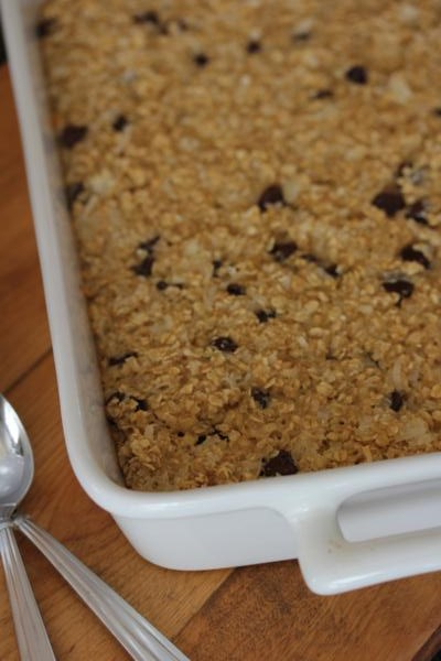 Mounds Bar Baked Oatmeal