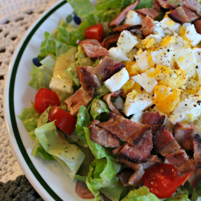 BLT-Romaine-and-Egg-Salad-with-Mustard-Dressing_