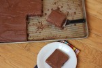 Chocolate Buttermilk Brownies {Cooking Through My Collection}