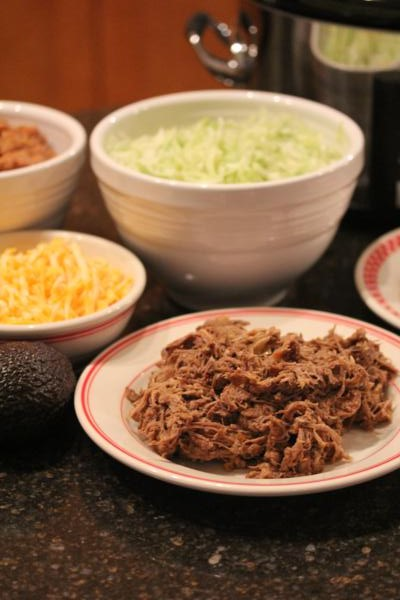 Crock Pot Beef Carnitas-