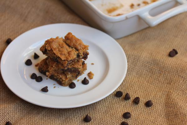 Mounds Cookie Bars_