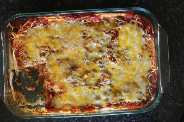 5 Ingredient Burrito Casserole