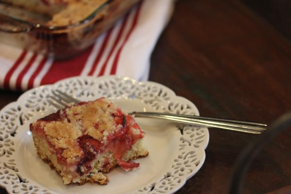Strawberry Coffee Cake_