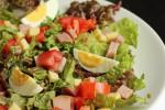 Gluten Free Dinner Recipe~Ham and Cheese Salad