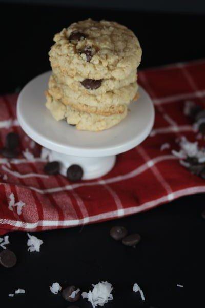 Gluten Free Coconut Oatmeal Cookies