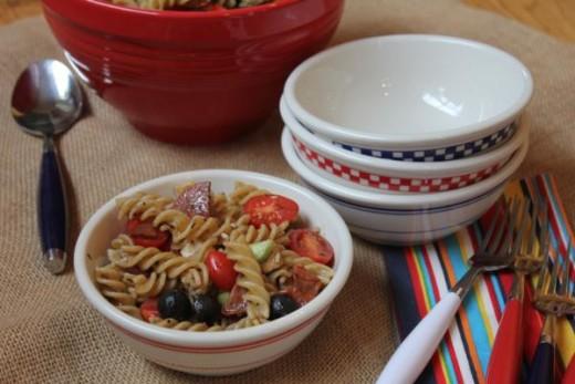 Summer Pasta Salad-