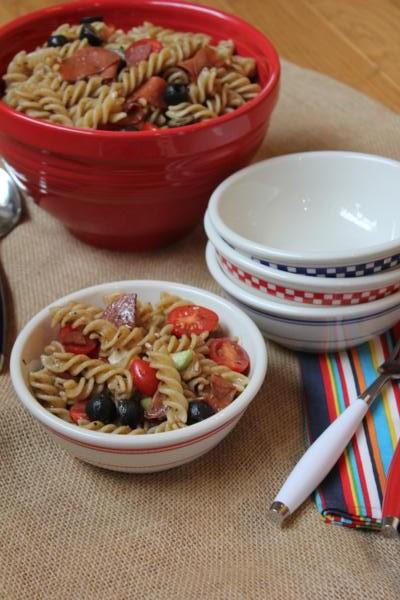 Summer Pasta Salad--