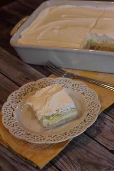 Creamy Lemon Dessert-