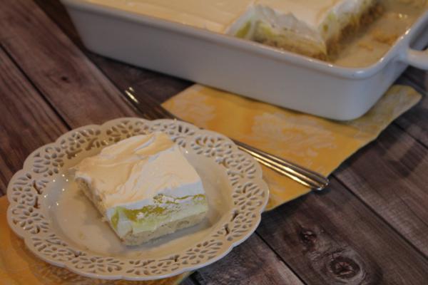 Creamy Lemon Dessert_