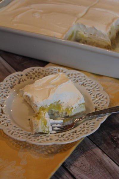 Creamy Lemon Dessert__