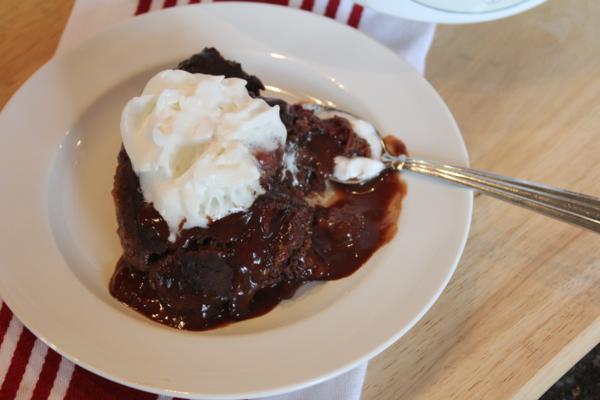 Crock Pot Raspberry Fudge Cake_