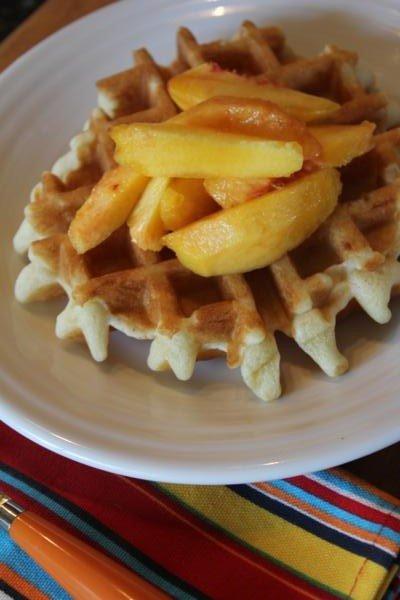 Gluten Free Dairy Free Waffles-