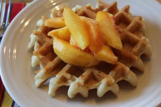 Gluten Free Dairy Free Waffles__