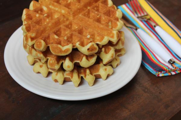 Light and Fluffy Dairy Free Waffles-
