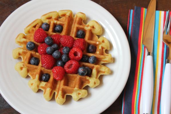 Light and Fluffy Dairy Free Waffles___