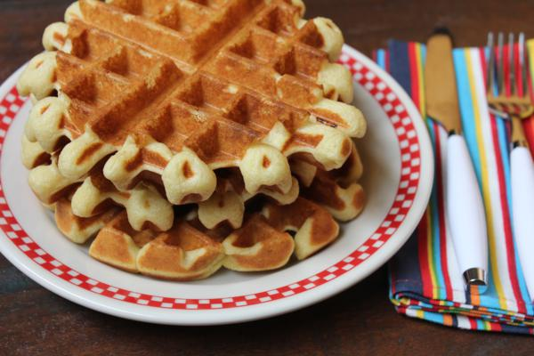 Light and Fluffy Waffles__